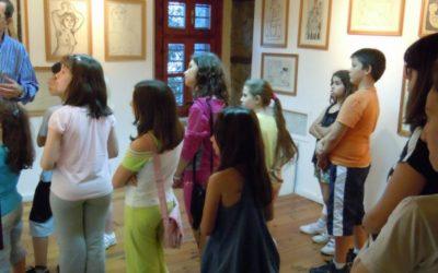 Επίσκεψη στη Δημοτική Πινακοθήκη 2013