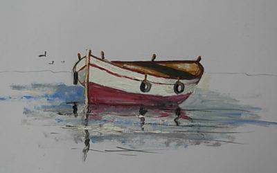 Ζωγράφισε μία βάρκα σε 3 βήματα