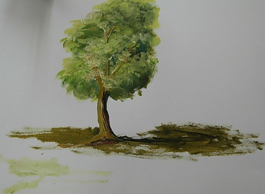 Ζωγράφισε ένα δέντρο σε 3 βήματα