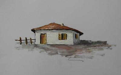 Ζωγράφισε ένα σπίτι σε 3 Βήματα